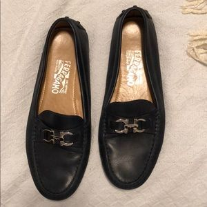 New ferragamo loafers (only worn once)